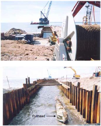Pipeline Shore Approach And HDD | anakkelautan